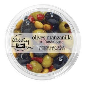 L'atelier Blini Olives manzanilla à l'andalouse 150g