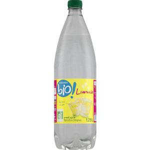 Monoprix Bio Limonade à l'arôme naturel de citron et de citron vert 1,25L