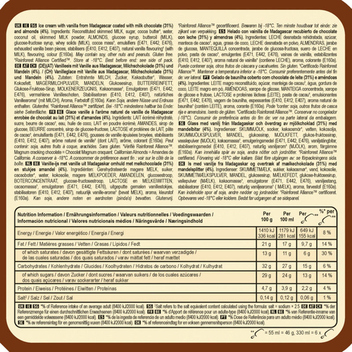 Magnum Glace Bâtonnet Mini Amande 6x55ml