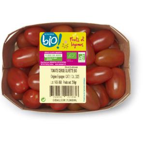 Monoprix Bio tomate cerise 250g
