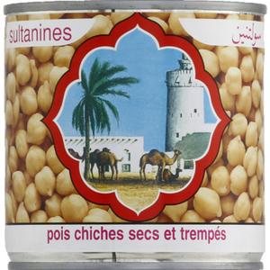 Sultanines Pois Chiches Secs et Trempés 265g