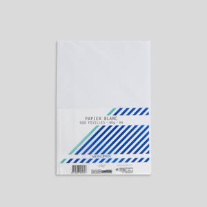 Monoprix Papier blanc 80 g A4
