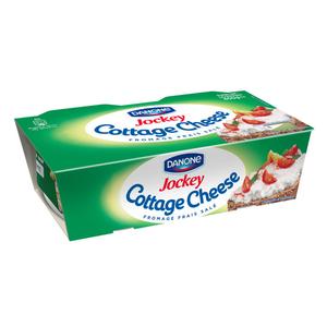 Jockey fromage frais salé cottage cheese le pack de 2x200g