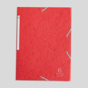Exacompta Chemise en carton 3 rabats, format A4