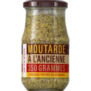 Monoprix Moutarde à l'ancienne 350g