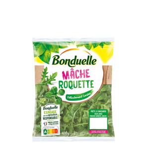 Bonduelle Mâche & Roquette Sachet de 100G