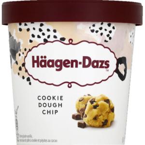 Haagen Dazs Pot Cookie dough chip 394g