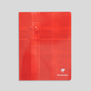 Clairefontaine Cahier 17x22cm, grands carreaux, 96 pages, 90gr/m²