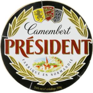 President fromage camembert le paquet de 250g